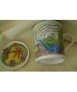 Comfort Queens Mug with Lid/Coaster, Sip Silenc... - $8.00