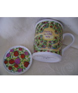 Comfort Queens Mug with Lid/Coaster, There is n... - $8.00