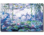 Buy Posters - Water Lilies by Claude Monet Print - New
