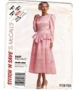 McCalls 4576 Vintage 80s Unused Womans Brides M... - $9.95