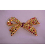 Vintage 1950's Large stylistic Bow Brooch/Pin - $54.99