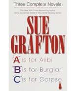 Three Complete Novels by Sue Grafton A, B, & C - $5.99