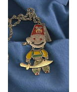 70s Shriner Fez articulated necklace Tiki Oasis... - $149.39