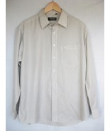 HUGO BOSS Mens Dress Shirt 17 33-34 Button Down... - $10.99