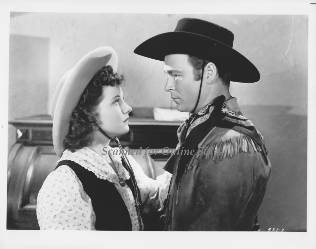 Roy Rogers Young Buffalo Bill Pauline Moore 8x10 Photo 13162