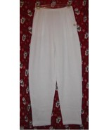 Express Tricot Thermal Pants White Size Medium - $7.00