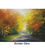 October Glow, Charles White Cross Stitch Pattern - $32.00