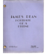 James Dean Portrait of a Friend ORIGINAL SCRIPT... - $39.99