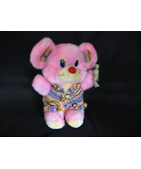 Mouse Plush Stuffed Animal Toy Pink Yellow Europe  - $2.99
