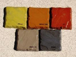 5 LBS. MIXED LOT OF POWDER TO COLOR CONCRETE, C... - $49.95