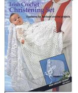 Irish Crochet Christening Set Crochet Pattern~9... - £27.55 GBP
