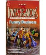 Three Investigators CRIMEBUSTERS #4 FUNNY BUSIN... - $3.95