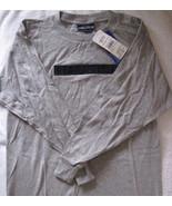 Nautica Boys Long Sleeve Tee Shirt Grey Cotton ... - $7.00