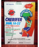 100 capsules CHERIFER PGM 10-22 ZINC Teenagers Filipino Vitamins 100 caps - $73.90