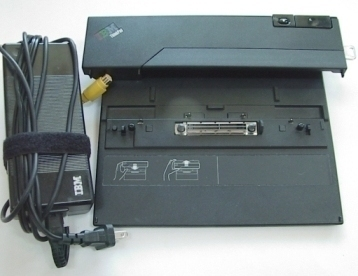 IBM ThinkPad Docking Station Mini-Dock AC Lock T40 R50 R40