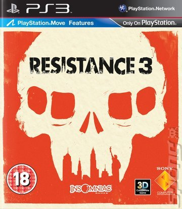 Resistance 3, PS3 game (UK)