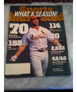 Sports Illustrated What A Season Mark McGwire 70 Home Runs 10/5/1998 Edition