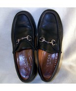 Women Gucci loafers black leather horsebit 6.5 reserve for Stephanie - $50.00
