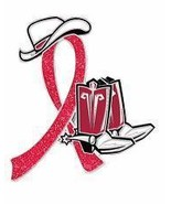 AIDS HIV Awareness Red Glitter Ribbon Western C... - $10.97