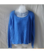 Old Navy large long-sleeved blue cotton blend s... - $20.00