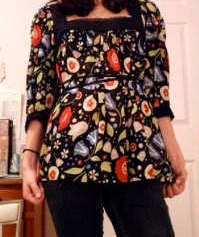 Anthropologie Fei paisley Juniors silk spring vintage blouse - Sea Cliff from bonanza.com