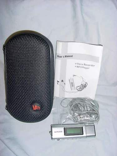 Konami Voice Recorder MP3 Player Promotional Item