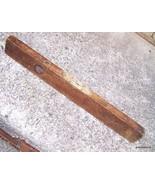 ANTIQUE WOOD LEVEL/CS CO. /PINE MEADOW CONN. US... - $65.00