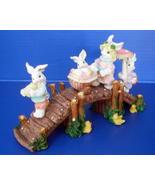 Easter Bunny Bridge Holiday Display Decor  - $14.99