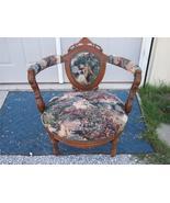 Walnut Renaissance Revival Bustle Chair/Parlor ... - $1,011.60