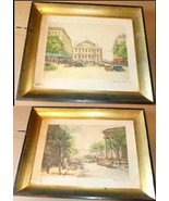 Lot of 2 CHARLES MONDIN numbered Prints lithogr... - $399.99