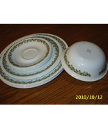 Vtg Lot CORELLE Spring Blossom Crazy Daisy Dinner+Dessert  Plates/Saucers/Bowl - $14.99