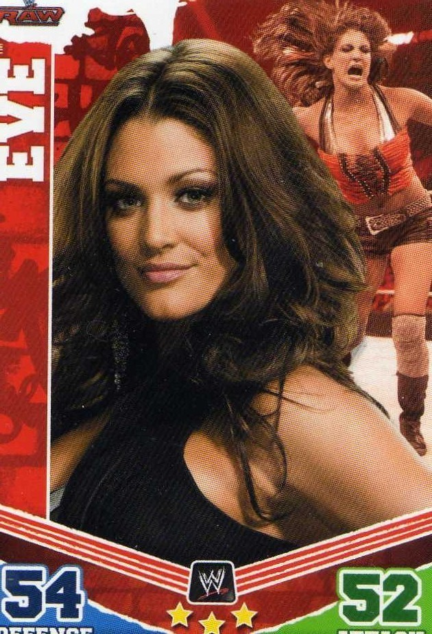 WWE 2010 Topps Slam Attax Mayhem Eve card DIVA TNA Impact