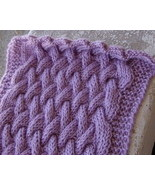 pattern for long braided cable neck scarf - $3.00