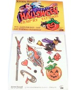 Jerome Russell Halloween Temporary Tattoos Witc... - $3.49