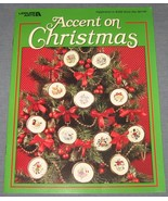 Accent On Christmas 1994 Leisure Arts MAKE cros... - $5.00