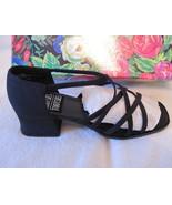 Mootsies Tootsies Strappy Heels Sandals Silky B... - $11.00