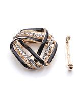 Diamond Simulants Black Twist Triangle scarves ... - $15.00