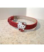 BRACELET CHILDS GIRLS HELLO KITTY RED SPARKLE B... - $7.99