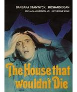 The House That Would Not Die 1970 TV Movie DVD - $9.00