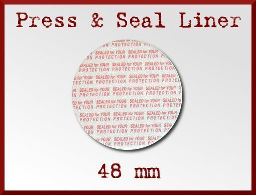 25 Press and Seal Liner for Lotion Jar - 48 mm