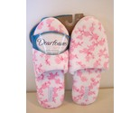 Buy men's slippers - Dearfoams Slippers Pink Toile Womens Size 6