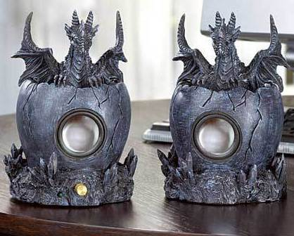 Image 2 of Black Dragon Computer Speakers