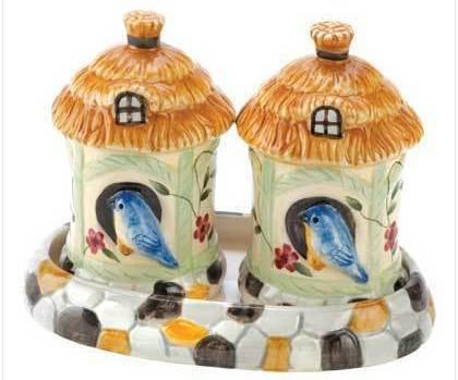 Image 0 of Birdhouse Salt & Pepper Shakers