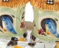 Image 1 of Birdhouse Salt & Pepper Shakers