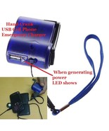Cellphone USB Emergency Charger Dynamo Hand Crank - $2.99
