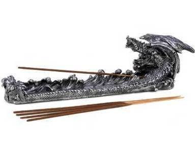 Slate Dragon Incense Burner