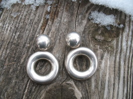 Mexico Sterling Silver earrings Post dangles 20... - $49.00