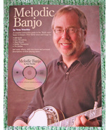 Melodic Banjo Book w/CD/Tony Trischka/Keith Sty... - $21.50