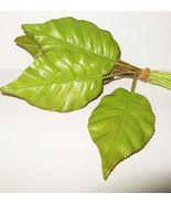 Vinatge Millinery Flower 12 Stiff  PEAR GREEN L... - $9.29