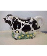 Black and White Holstein Cow Water Pitcher~Youn... - $18.00